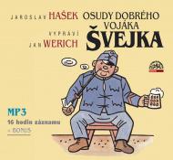 Jan Werich, Jaroslav Hašek - Osudy dobrého vojáka Švejka 2CD-MP3