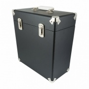 GPO Vinyl Record Case Black