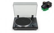 THORENS TD-102A Black + Audio-Technica AT-VM95E