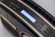 GPO Rydell Nostalgic DAB Radio Black And Cream