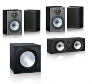 Monitor Audio Reference MR1 set 5.1 - Black Oak