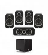Q Acoustics 3020i PLUS 5.1 Carbon Black
