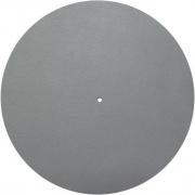 Kožená podložka taniera gramofónu šedá