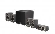 Q Acoustics 3010i PLUS 5.1 Graphite Grey