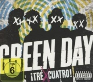 Green Day -!TRÉ !CUATRO! CD+DVD