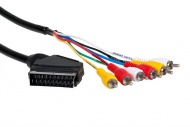 Kábel Scart AQ KVR015 1,5m