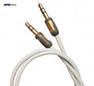 Prepojovací kábel pre prenosné zariadenia Supra MP-Cable 3.5mm Stereo
