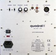 Quadral Qube 12 Aktiv - lesklá bílá