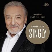 Karel Gott -Singly / 300 písní z let 1962-2019 (15CD)