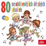 80 nejoblíbenějších dětských písniček - 2CD