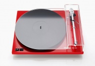 Thorens TD 203 - Red High Gloss