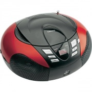 Prehrávač CD / MP3 Lenco SCD-37 USB červená