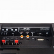 Electrocompaniet RENA SA-1 Black/Silver Aluminium