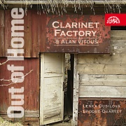 Clarinet Factory a Alan Vitouš - Out of home CD