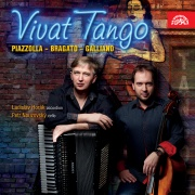 Ladislav Horák, Petr Nouzovský, Piazzolla, Bragato a Galliano - Vivat tango CD