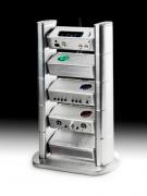 Chord Electronics Chordette Rack, 4 moduly - strieborná