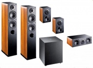 Indiana Line Nota X Home Cinema Set 5.1 - Walnut
