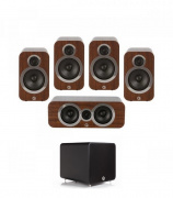 Q Acoustics 3020i PLUS 5.1 English Walnut