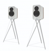 Q Acoustics Concept 300 White a Light Oak