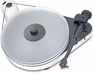 Pro-Ject RPM 5 Carbon Piano White + Quintet red