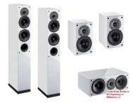 Indiana Line Tesi High Gloss Home Cinema Set 5.0 - White