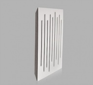 Wood Equalizer White Corner