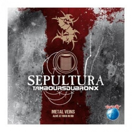 Sepultura - Metal Veins - Alive at Rock in Rio 2LP
