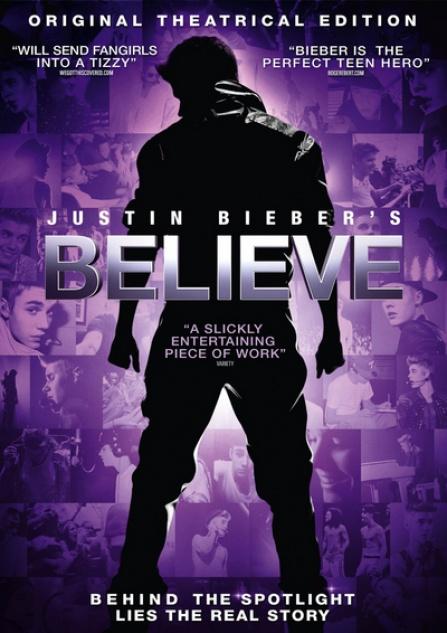 Justin Bieber - Belive DVD