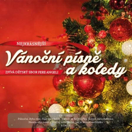 Nejkrásnější Vánoční Písně a Koledy - dětský sbor LP