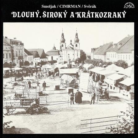 Divadlo Járy Cimrmana - Dlouhý, Široký a Krátkozraký CD