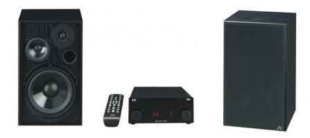 Set AQ M3 D + Tango 85 (2×) černé