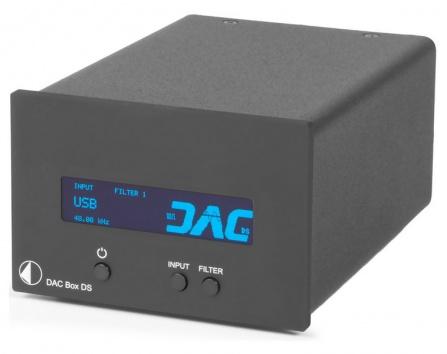 DAC převodník Box DS černý