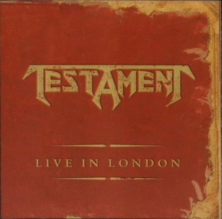Testament - Live In London LP (2)