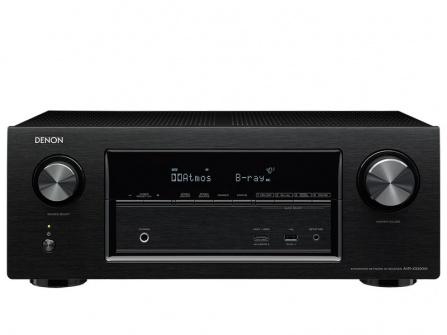 Denon AVR-X3300W - black