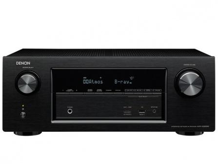 Denon AVR-X3200W - black