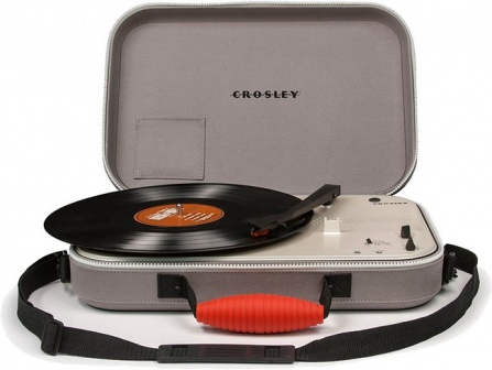 Crosley Messenger Grey