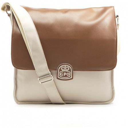 GPO Record Bag Cream Tan