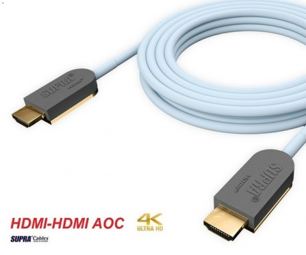 Supra HDMI-HDMI AOC OPTICAL 4K/HDR 15m