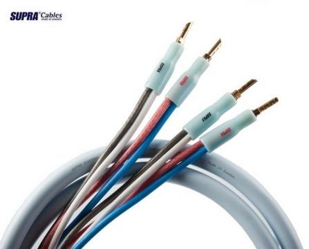 Supra Quadrax SET 2x4.0 Single-wire CombiCon, délka 2x 3metry