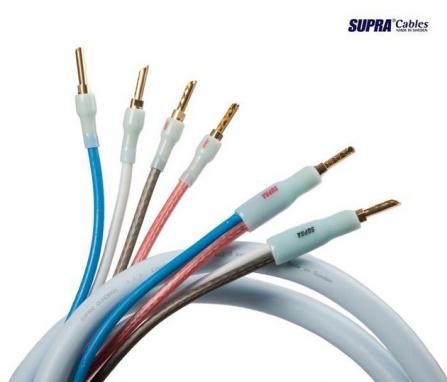 SUPRA Quadrax SET 4x2.0 Bi-wire CombiCon, délka 2x 4m
