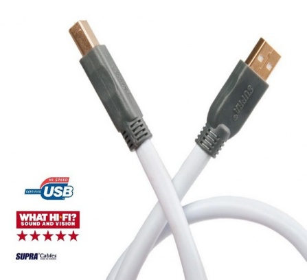 SUPRA USB 2.0 Cable 3m