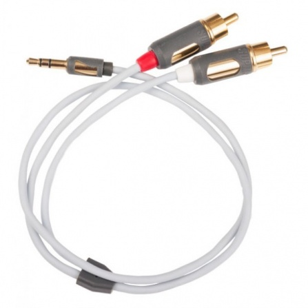 Signálový kabel Supra MP-CABLE MINI PLUG-2RCA - 2metry