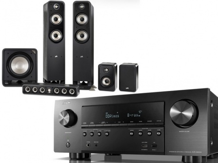 Denon AVR-S950H + Polk Audio Signature E