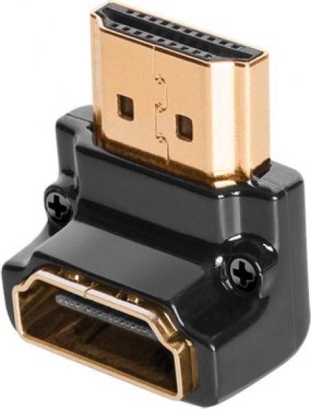 Audioquest HDMI adaptér 90°N-otočení dolů HDMI samec-HDMI samice