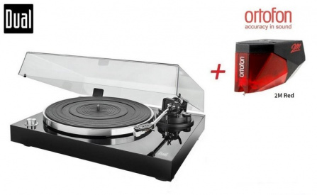 Dual DT 500 USB + Ortofon 2M Red