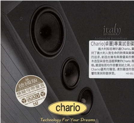 Various Artists - Chario-Technology For Your Dreams CD/AAD