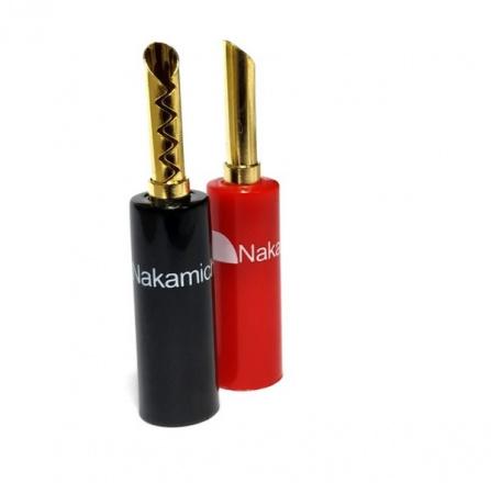 Nakamichi Banana Plugs N0533E