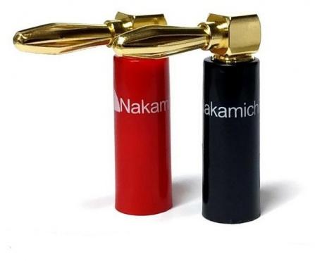 Nakamichi Banana Plugs Angle N0533A
