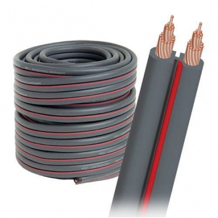 Audioquest reproduktorový kabel X2 - šedý