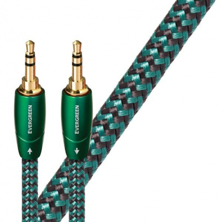 Audioquest Evergreen JJ 1 m - audio kabel 3,5 mm jack na 3,5 mm jack